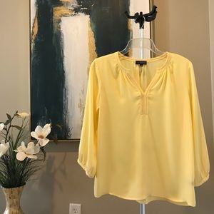 The Limited Yellow Blouse